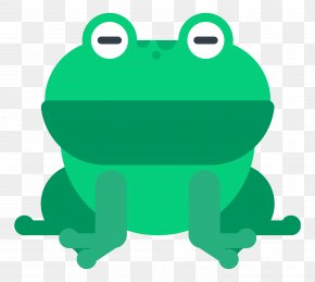 Green Frog - Frog Animal Icon PNG