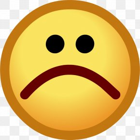 Sad Emoji Picture - Club Penguin Sadness Emoticon Smiley Clip Art PNG