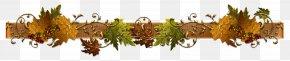 Autumn Border Clipart Picture - Autumn Leaf Color Clip Art PNG
