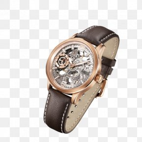 Watch - Watch Strap Madrones Skeleton Watch PNG