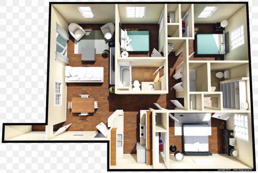 Furniture Floor Plan Wall Unit Bedroom Interior Design ...