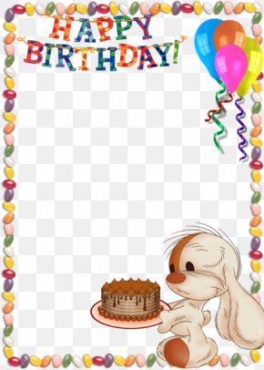 Birthday Frames - Happy Birthday To You Picture Frame Child Clip Art PNG