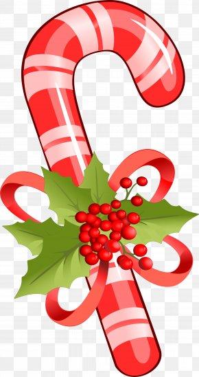 Lollipop - Candy Cane Stick Candy Ribbon Candy Clip Art Christmas Lollipop PNG