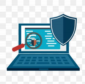 Computer Illustration - Computer Security Internet Security Antivirus Software Web Application Security PNG