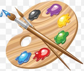Painting - Palette Painting Art Clip Art PNG