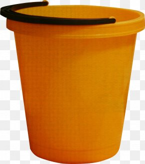 Brown Bucket - Bucket Gratis Brown PNG