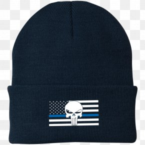 United States - Thin Blue Line United States Beanie Police Law Enforcement PNG