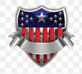 USA Badge With Banner Transparent Clip Art Image - General Badges Of The United States Army United States Armed Forces PNG