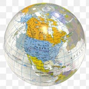 World Globe - Globe World Earth Beach Ball Map PNG