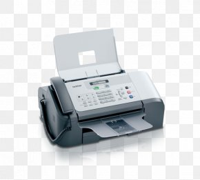 Fax Machine Cliparts - Fax Printer Inkjet Printing Brother Industries Ink Cartridge PNG