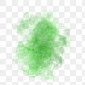 Green Light Fog Effect - Green Pattern PNG