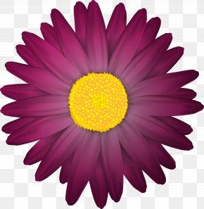 Dark Flower Transparent Clip Art Image - Flower Clip Art PNG
