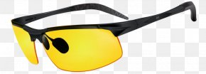 Driving Inclement Weather - Goggles Sunglasses Clip Art Light PNG