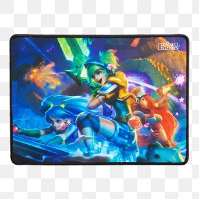 League Of Legends - League Of Legends Computer Mouse Mouse Mats Royal Never Give Up 2017 Mid-Season Invitational PNG
