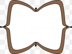 Brown Border Cliparts - Reading Text Pin Picture Frame Clip Art PNG