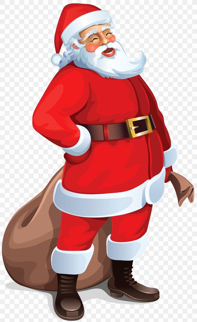 Santa Claus Clip Art, PNG, 3830x6238px, Santa Claus, Art, Christmas, Clip Art, Costume Download Free