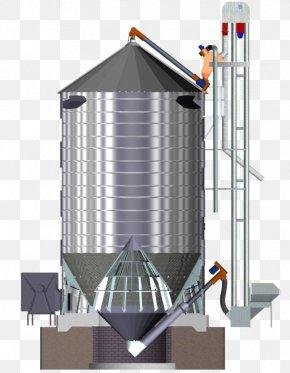 Silo Cereal Bucket Elevator Grain Elevator Conveyor System PNG