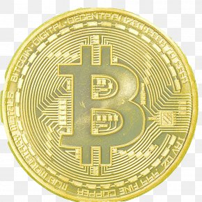 Bitcoin Material - Bitcoin Gold Plating Collecting PNG