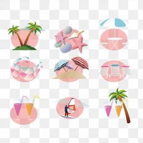 Creative Summer Vacation - Summer Vacation Clip Art PNG