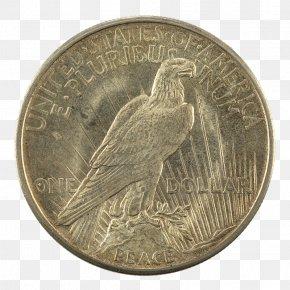 Coin - Quarter Dollar Coin Peace Dollar Morgan Dollar United States Dollar PNG
