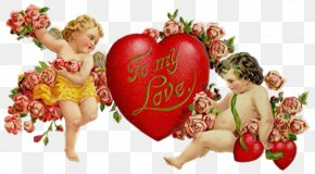 Cupido - Valentine's Day Love Heart Romance PNG