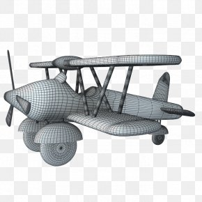 Wireframe Model - .3ds Autodesk 3ds Max Airplane 3D Computer Graphics Wavefront .obj File PNG