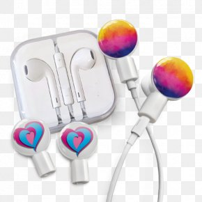 Headphones - Apple Earbuds Headphones Audio Happy Plugs Earbud PNG