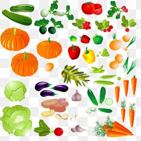 Collection Of Fruits And Vegetables - Smoothie Vegetable Fruit Clip Art PNG