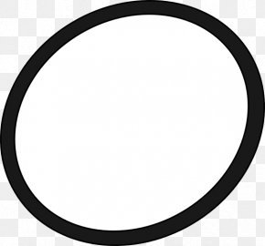 Oval Outline Cliparts - Guatemala City FC Schalke 04 Black And White Circle Colegio Decroly Americano PNG