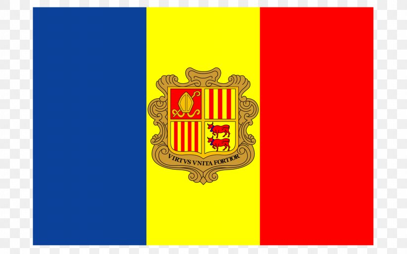Flag Of Andorra Flags Of The World National Flag, PNG, 1920x1200px, Andorra, Brand, Crest, El Gran Carlemany, Flag Download Free