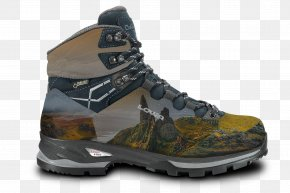 Hiking Shoes - Hiking Boot Shoe Gore-Tex PNG