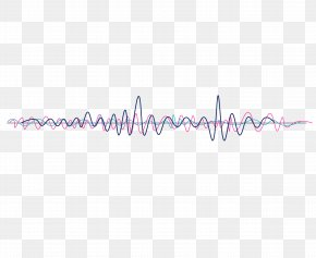 Vector Psychedelic Sound Wave Curve Picture - Line Point Angle Brand Pattern PNG