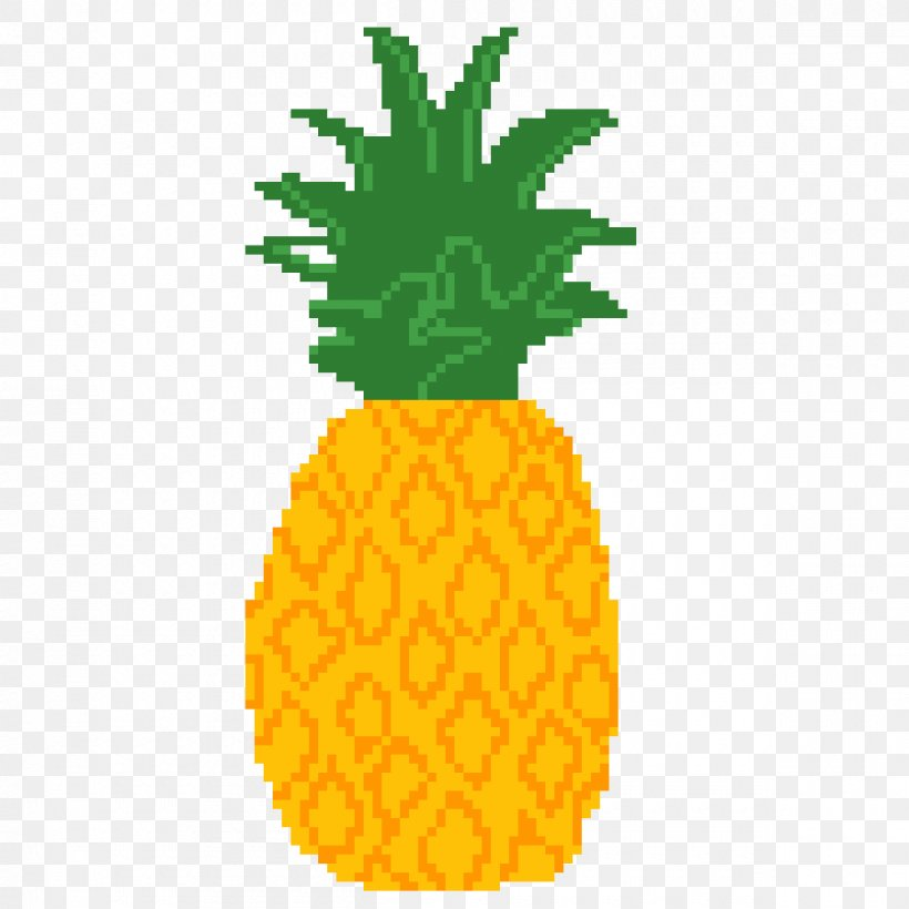 Pineapple Drawing House Pixel Art Youtube Png 1200x1200px