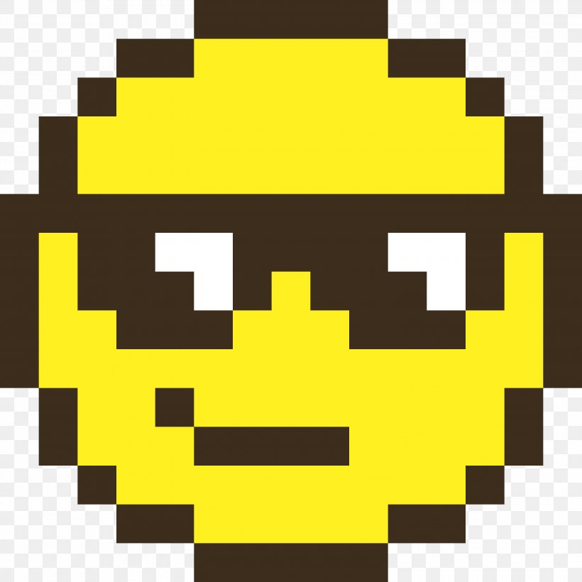 Smiley Pixel Art Emoticon Png 3000x3000px Smiley