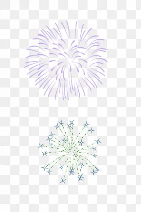 Purple Fresh Fireworks Effect Elements - Adobe Fireworks PNG