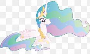 Princess Celestia Transparent Background - Princess Celestia Rainbow Dash Princess Luna Pony PNG