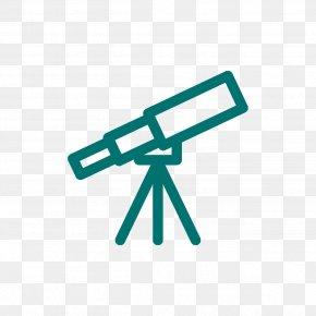 Optical Instrument Symbol - Background Green PNG