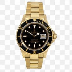 Rolex - Rolex Submariner Rolex Daytona Watch Colored Gold PNG