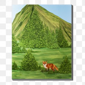 Art Canvas - Canvas Print Art Blanket Biome PNG