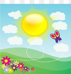 Sunshine Cartoon - Nature Clip Art PNG