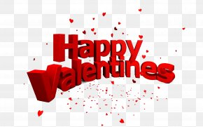 Happy Valentines Day PNG - Red Valentine's Day Brand Graphic Design PNG