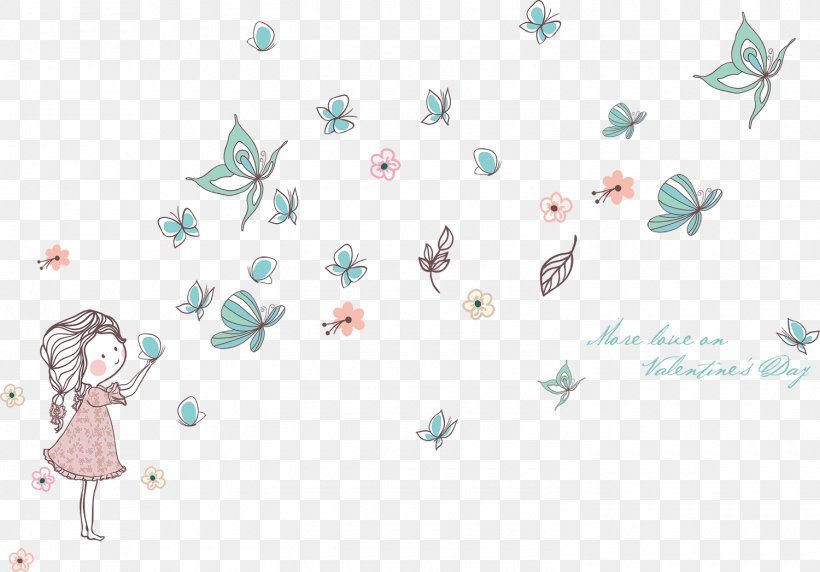 Butterfly Wall Decal Sticker Drawing Child, PNG, 1500x1047px, Butterfly, Adhesive, Art, Branch, Butterflies And Moths Download Free