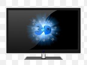 Desktop TV - Laptop Computer Monitor Desktop Computer Television PNG