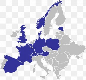 Map Of Europe - Member State Of The European Union Lisbon Strategy Maastricht Treaty PNG