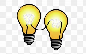 Light Bulb - Open Innovation Business Co-creation Clip Art PNG