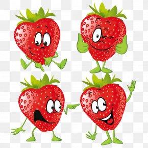Strawberry - Strawberry Cartoon Fruit Illustration PNG