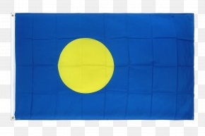 Flag - Flag Of Palau Flag Of Palau Fahne Palauan Language PNG
