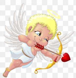 Floating Angel - Valentines Day Vinegar Valentines Holiday February 14 Dia Dos Namorados PNG
