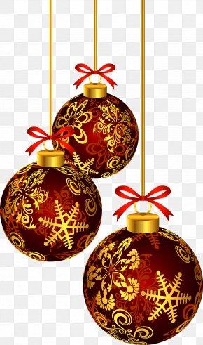 Christmas Balls - Christmas Ornament Clip Art PNG