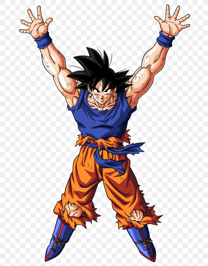 Goku Gohan Vegeta Genkidama Dragon Ball, PNG, 760x1050px, Goku, Action Figure, Aggression, Arm, Art Download Free